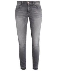 Only Onlcar Jeans Skinny Fit Medium Grey Denim