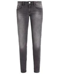 Mavi Serena Jeans Skinny Fit Mid Grey Glam