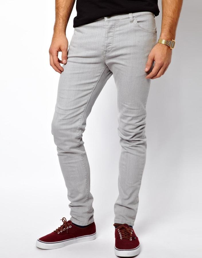 Asos skinny jeans in grey