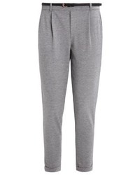 Vero Moda Vmkally Trousers Light Grey Melange