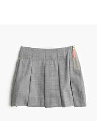 J.Crew Girls Side Zip Flannel Skirt