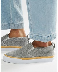 Asos Dynamic Slip On Sneakers