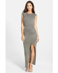 Twisted slit maxi dress medium 344251