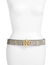 Classic logo python embossed belt medium 156892