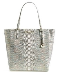 Brahmin Harrison Python Embossed Leather Tote