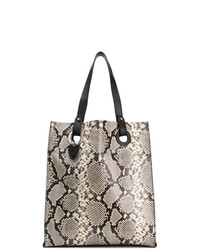 Htc Los Angeles Snake Print Tote Bag