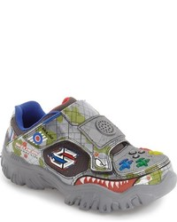 Skechers Boys Damager Game Kicks Ii Fight Light Up Sneaker