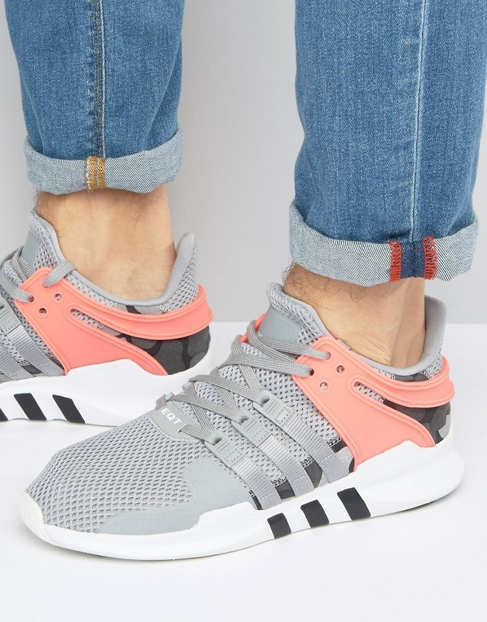 100% authentic 5cd6e 12114 £54, adidas Originals Eqt Support Advance Sneakers In Gray Bb2792