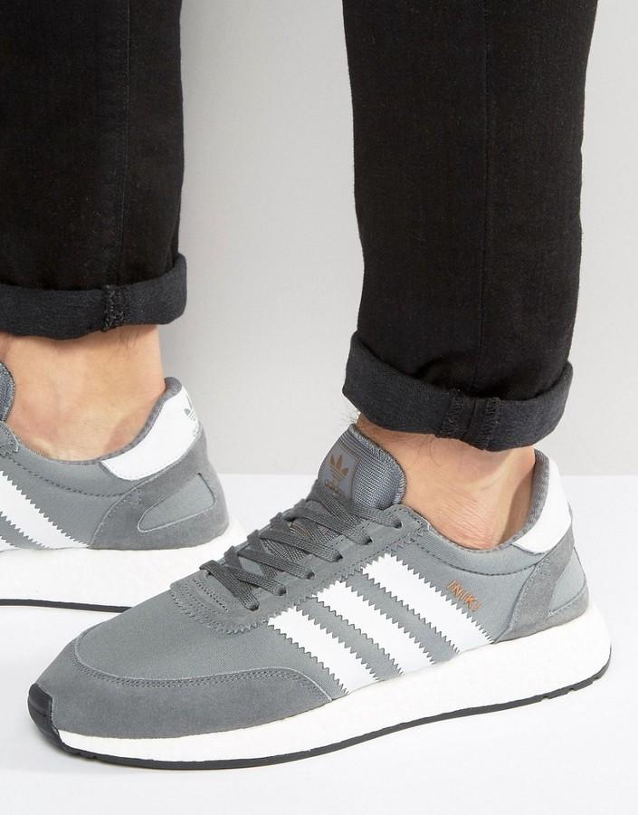 adidas ORIGINALS INIKI RUNNER GREY MEN