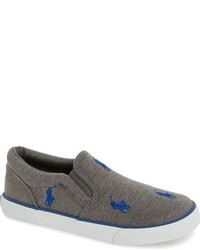 Ralph Lauren Toddler Boys Bal Harbour Repeat Slip On Sneaker