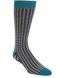 Ted Baker London Dot Organic Cotton Blend Socks