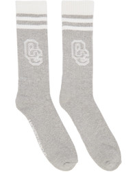 Opening Ceremony Grey Logo Socks