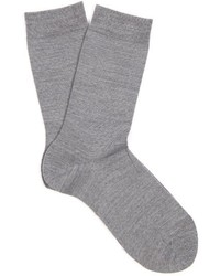 Falke Soft Wool And Cotton Blend Socks