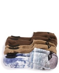 Sperry Time Tide 3 Pack No Show Socks