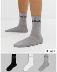 Reebok Training Socks In Multi