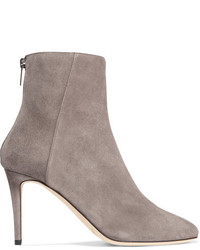 Duke suede ankle boots light gray medium 818589