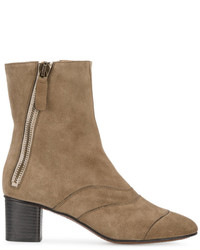 Grey suede lexie 55 ankle boots medium 4394909