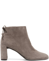 Lofty suede ankle boots gray medium 953930