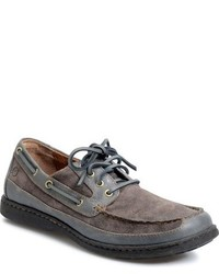 Brn harwich boat shoe medium 800921