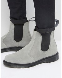 Dr. Martens Dr Martens 2976 Chelsea Boots In Gray Suede