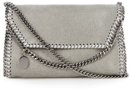 b6184eabb192 ... Stella McCartney Falabella Small Faux Suede Cross Body Bag ...