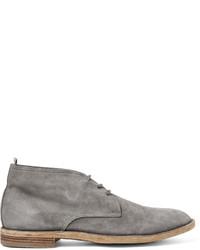 Officine Creative Suede Chukka Boots
