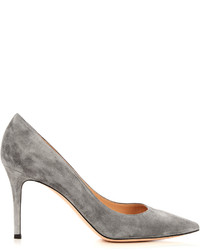 Gianvito Rossi Gianvito Point Toe Suede Pumps