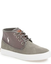 Ralph Lauren Boys Waylon Mid Sneaker