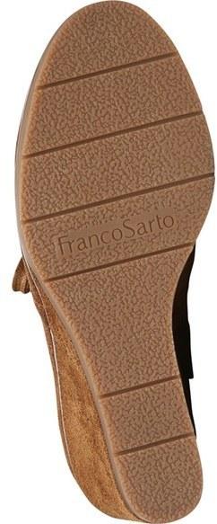 d88e47d543b3 Franco Sarto Austine Lace Up Wedge Bootie