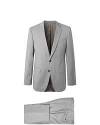 Hugo Boss Grey Hugegenius Slim Fit Super 120s Virgin Wool Suit