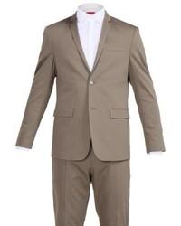 Calvin Klein Tabor Paris Suit Taupe