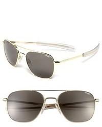Randolph Engineering 58mm Aviator Sunglasses