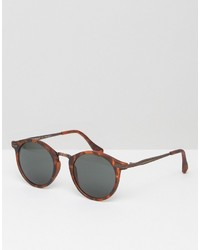A. J. Morgan Aj Morgan Round Sunglasses In Gray Tort