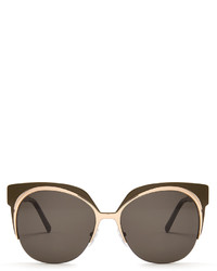 Marni Cat Eye Acetate Sunglasses