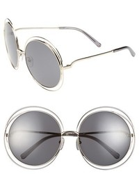 Chloé Chloe 62mm Oversize Sunglasses