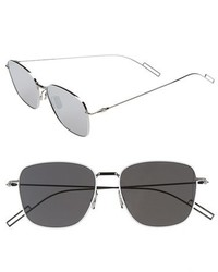 Christian Dior Dior Homme Composit 11s 54mm Metal Sunglasses