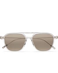 Montblanc Navigator Aviator Style Acetate Sunglasses