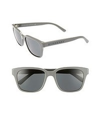 Burberry Splash 55mm Sunglasses Grey One Size