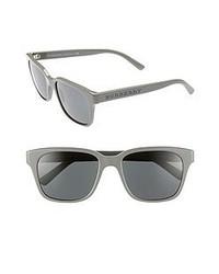 Burberry Splash 55mm Sunglasses Grey One Size