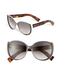 Dior Summer 56mm Retro Sunglasses Grey Grey Gradient One Size