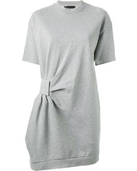 Marc by Marc Jacobs Gathered Detail Sweatshirt Dress