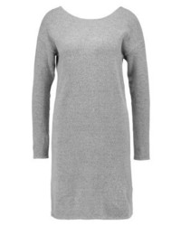 Pieces Jumper Dress Medium Grey Melange