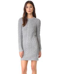 Moon River Long Sleeve Sweater Dress