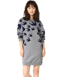 McQ by Alexander McQueen Mcq Alexander Mcqueen Classic Sweatshirt Dress
