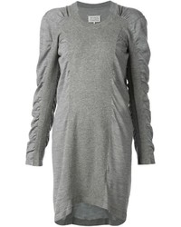 Maison Margiela Ruched Sleeve Sweater Dress