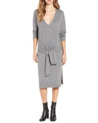 Leith Tie Waist Sweater Dress