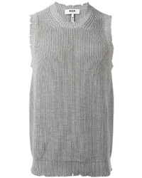 MSGM Knitted Vest