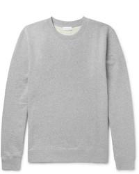 Sunspel Brushed Loopback Cotton Jersey Sweatshirt