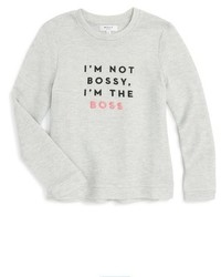 Milly Minis Im Not Bossy Sweatshirt