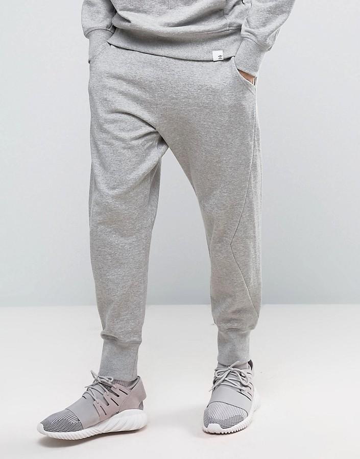 adidas sweatpants grey